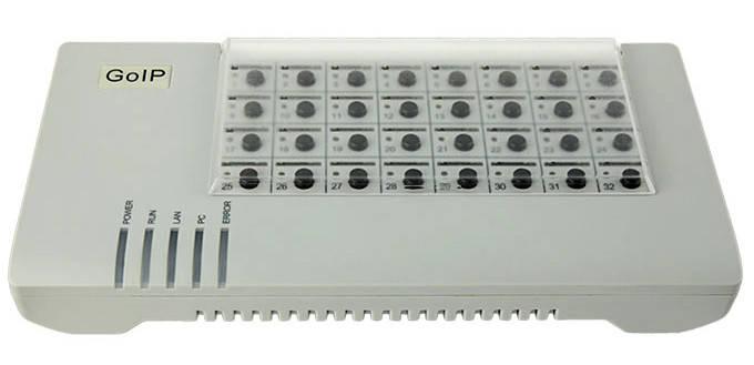 VoIP SIM сервер SIMBank-32, фото 2
