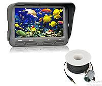 Подводная HD камера для поиска рыбы с углом обзора  140°.