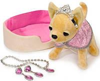 Собачка ЧиЧиЛав Чихуахуа с диванчиком Принцесса