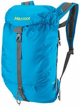 Рюкзак туристический из нейлона на 18 л Marmot Kompressor  MRT 25430.2264 blue sea, синий