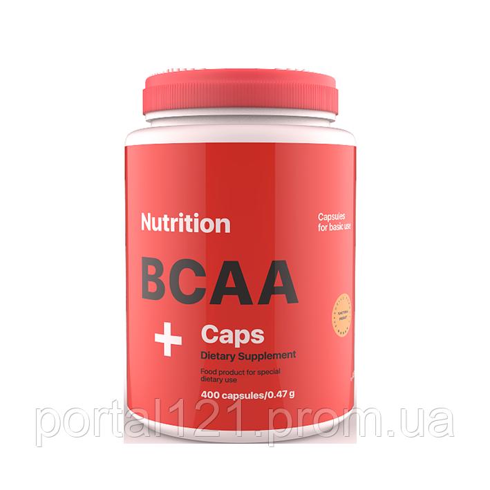 ВСАА Caps (амінокислоти bcaa) в капсулах BCAA CAPS 400 AB PRO ™