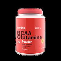 BCAA Glutamine (аминокислоты bcaa, глютамин) порошок  236 грамм AB PRO ™