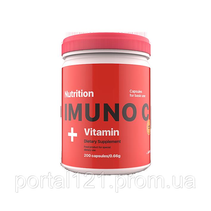 Вітамін С 200 капсул imuno c AB PRO