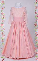 Детское платье с гипюровым корсетом Николлета