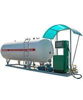 Газовый модуль наземный 10 м3