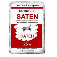 Шпатлевка Сатенгипс еврогипс финишна 25 кг