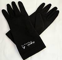 Перчатки черные флисовые Agnes.B