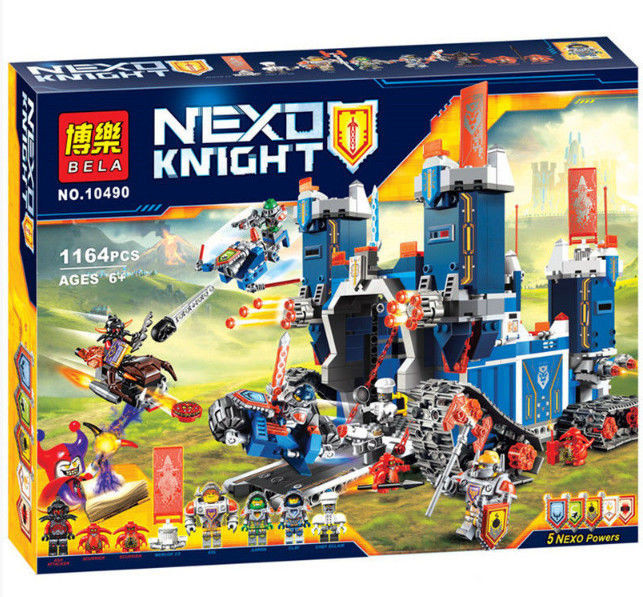 """Конструктор Nexo Knights 10490 """"Мобильная крепость Фортрекс"""", 1164 дет,"""