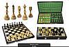 Шахматы 3123 INDIAN с вставкой, коричневые