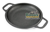 Сковорода чугунная порционная 20см (крышка-сковорода) БИОЛ 02032