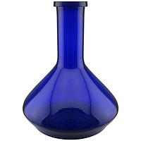 Колба для кальяна 0313 богемское стекло, синяя