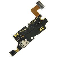 Шлейф для Samsung N7000/i9220 Galaxy Note с разъемом зарядки и микрофоном