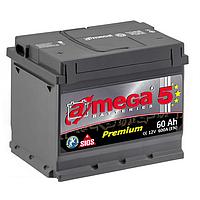 Аккумулятор 6СТ-60 левый + A-Mega Premium M5