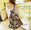 Рюкзак с цветочным принтом D5758, фото 2