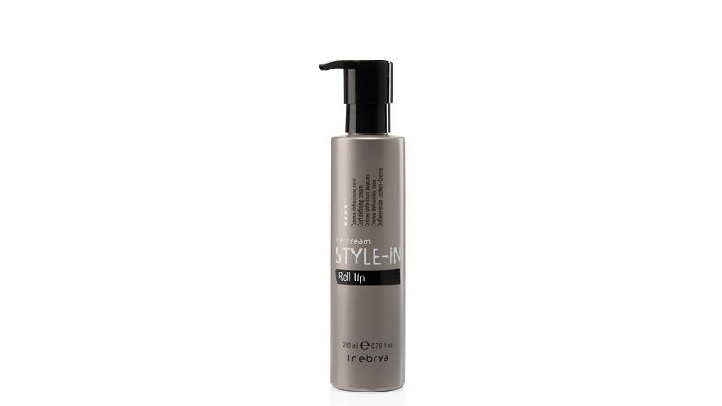 Inebrya ROLL UP крем для выделения локонов натуральных, волнистых и химически завитых волос 200 мл.
