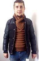 Стильная мужская куртка от Zara Man чёрного цвета