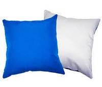Подушка атласная 35х35. Цветная сторона