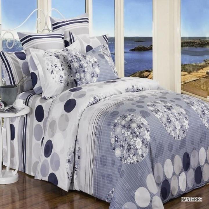 Полуторное постельное белье Геометрия, бязь