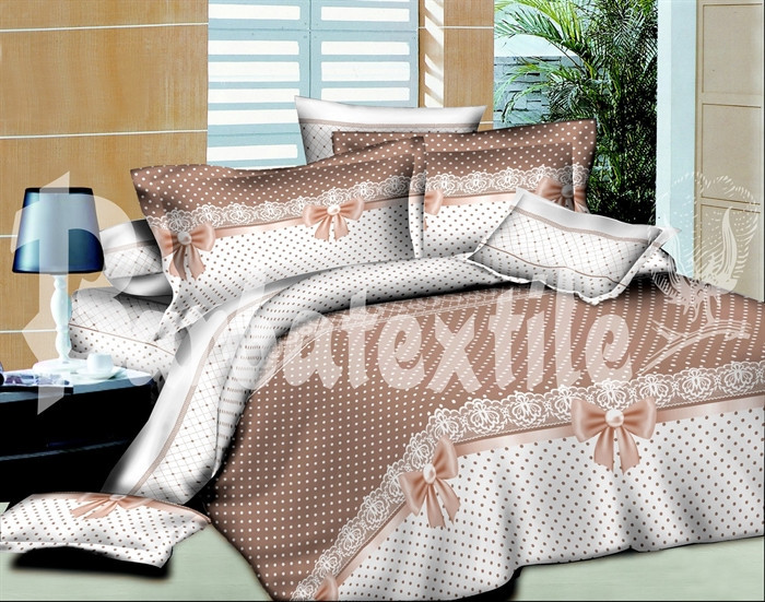 Двуспальный комплект постельного белья Банты, бязь