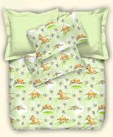 Детское постельное белье Медовые мишки, бязь (подростковое)