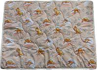 Детское одеяло антиалергенное Персиковые мишки (140х205)