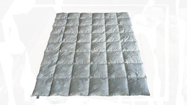Пуховое одеяло полуторное (155х215 см.)