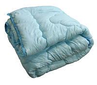 Одеяло двуспальное, силиконовое из микрофибры Голубое Облако (175х215 см.)