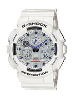 Часы Casio G-Shock GA-100 белые