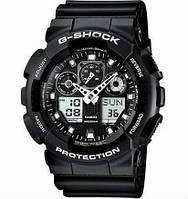 Часы Casio G-Shock GA-100 Черные