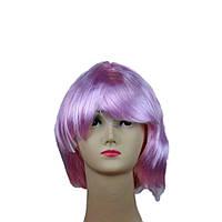 Парик каре светло-розовый 151116-016