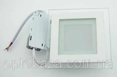 Led светильник встраиваемый 6Вт 4000 К (98х98х40 мм)