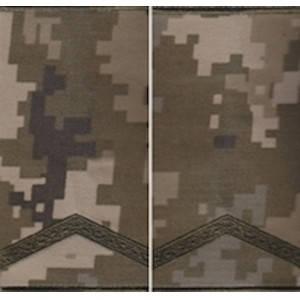 """Погон """"Старший солдат"""" муфта, камуфляжный (пиксель)"""