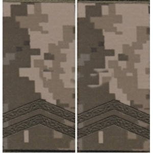 """Погон """"Младший сержант"""" муфта, камуфляжный (пиксель) , фото 2"""