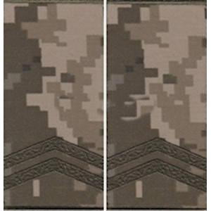 """Погон """"Младший сержант"""" муфта, камуфляжный (пиксель)"""
