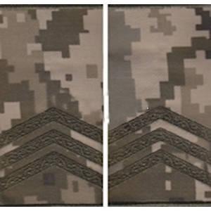 """Погон """"Сержант"""" муфта, камуфляжный (пиксель) , фото 2"""