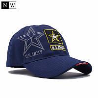 Бейболка синяя  US.ARMY STAR