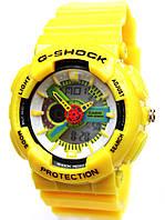 Часы Сasio G-Shock в желтом цвете