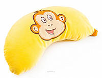 Мягкая игрушка Подушка Банан с обезьянкой