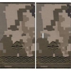 """Погон """"Майор"""" муфта, камуфляжный (пиксель) , фото 2"""