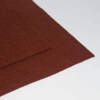 Фетр мягкий коричневый 1,4мм  40х50см