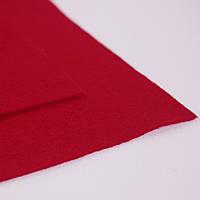 Фетр мягкий красный 1,4мм  40х50см