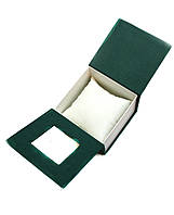 Зеленый футляр для часов