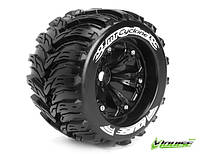 Колеса Louise Monster 1/8 MT-CYCLONE Sport вылет 1/2 хром 2шт