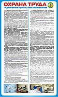 Стенд. Охрана труда в радиологическом отделении с использованием изотопов. (Рус.) 0,6х1,0. Пластик