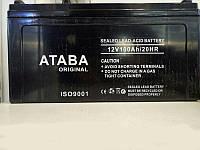 Aккумулятор ATABA  12V - 100A, для солнечных батарей   .f