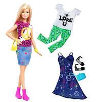 Кукла Барби Модница с набором одежды/ Barbie Fashionistas Doll 35 Peace & Love Doll & Fashions - Original