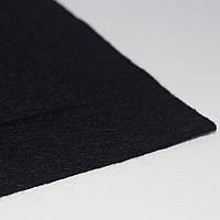 Фетр мягкий черный 1,4мм  40х50см
