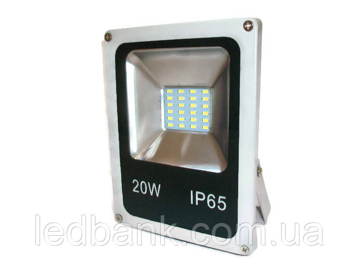 Прожектор светодиодный LED SMD 20W