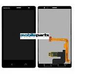 Оригинальный Дисплей (Модуль) + Сенсор (Тачскрин) для Nokia X2 Dual Sim (Черный)