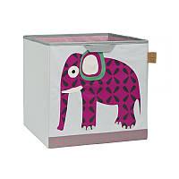 Lassig - Коробка для игрушек, слон